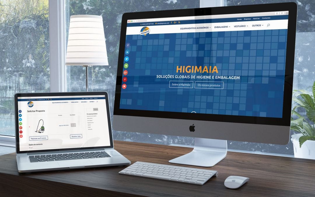 Novo website www.higimaia.com